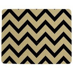 Chevron9 Black Marble & Light Sand (r) Jigsaw Puzzle Photo Stand (rectangular) by trendistuff