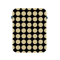 Circles1 Black Marble & Light Sand Apple Ipad 2/3/4 Protective Soft Cases by trendistuff
