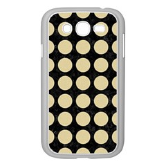 Circles1 Black Marble & Light Sand Samsung Galaxy Grand Duos I9082 Case (white) by trendistuff