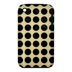 Circles1 Black Marble & Light Sand (r) Iphone 3s/3gs by trendistuff