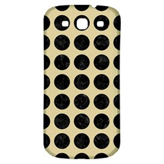Circles1 Black Marble & Light Sand (r) Samsung Galaxy S3 S Iii Classic Hardshell Back Case by trendistuff