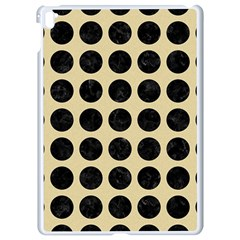 Circles1 Black Marble & Light Sand (r) Apple Ipad Pro 9 7   White Seamless Case by trendistuff