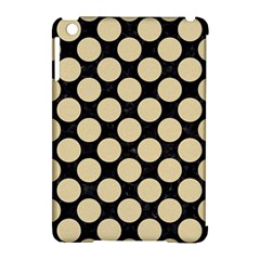 Circles2 Black Marble & Light Sand Apple Ipad Mini Hardshell Case (compatible With Smart Cover) by trendistuff