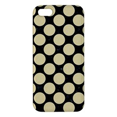 Circles2 Black Marble & Light Sand Iphone 5s/ Se Premium Hardshell Case by trendistuff