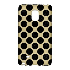 Circles2 Black Marble & Light Sand (r) Galaxy Note Edge by trendistuff