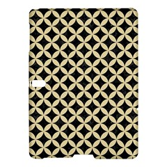 Circles3 Black Marble & Light Sand Samsung Galaxy Tab S (10 5 ) Hardshell Case  by trendistuff