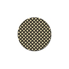 Circles3 Black Marble & Light Sand (r) Golf Ball Marker (4 Pack) by trendistuff