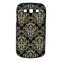 Damask1 Black Marble & Light Sand Samsung Galaxy S Iii Classic Hardshell Case (pc+silicone) by trendistuff