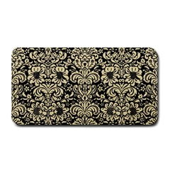 Damask2 Black Marble & Light Sand Medium Bar Mats by trendistuff