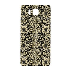 Damask2 Black Marble & Light Sand Samsung Galaxy Alpha Hardshell Back Case by trendistuff