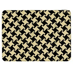 Houndstooth2 Black Marble & Light Sand Samsung Galaxy Tab 7  P1000 Flip Case