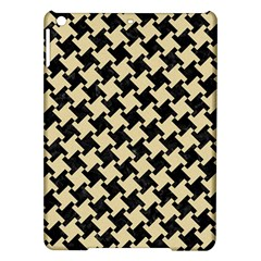 Houndstooth2 Black Marble & Light Sand Ipad Air Hardshell Cases by trendistuff