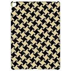 Houndstooth2 Black Marble & Light Sand Apple Ipad Pro 12 9   Hardshell Case by trendistuff