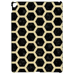 Hexagon2 Black Marble & Light Sand Apple Ipad Pro 12 9   Hardshell Case by trendistuff
