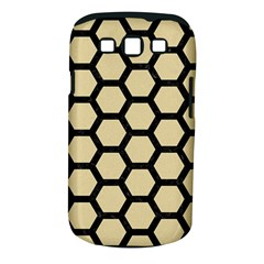 Hexagon2 Black Marble & Light Sand (r) Samsung Galaxy S Iii Classic Hardshell Case (pc+silicone) by trendistuff