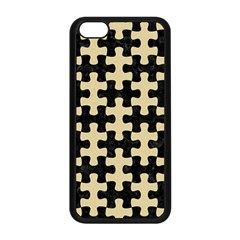 Puzzle1 Black Marble & Light Sand Apple Iphone 5c Seamless Case (black) by trendistuff