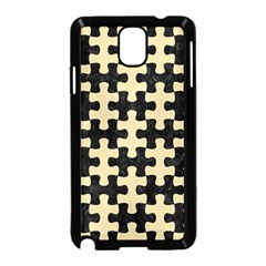 Puzzle1 Black Marble & Light Sand Samsung Galaxy Note 3 Neo Hardshell Case (black) by trendistuff
