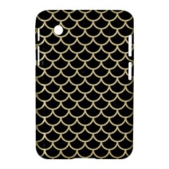 Scales1 Black Marble & Light Sand Samsung Galaxy Tab 2 (7 ) P3100 Hardshell Case  by trendistuff