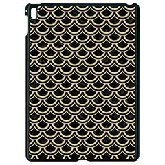 Scales2 Black Marble & Light Sand Apple Ipad Pro 9 7   Black Seamless Case by trendistuff