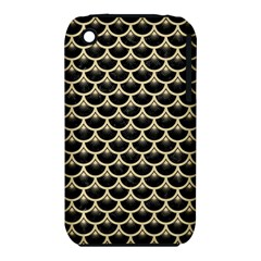 Scales3 Black Marble & Light Sand Iphone 3s/3gs by trendistuff
