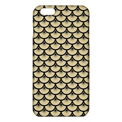 Scales3 Black Marble & Light Sand (r) Iphone 6 Plus/6s Plus Tpu Case by trendistuff