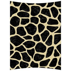 Skin1 Black Marble & Light Sand (r) Back Support Cushion by trendistuff