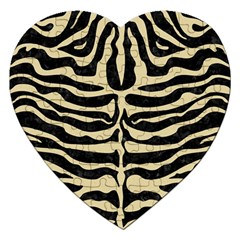 Skin2 Black Marble & Light Sand Jigsaw Puzzle (heart) by trendistuff