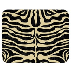 Skin2 Black Marble & Light Sand Double Sided Flano Blanket (medium)  by trendistuff