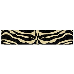 Skin2 Black Marble & Light Sand Flano Scarf (small) by trendistuff