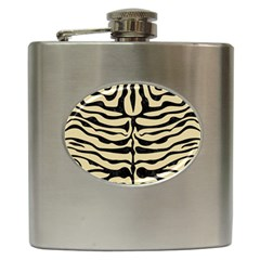 Skin2 Black Marble & Light Sand (r) Hip Flask (6 Oz) by trendistuff