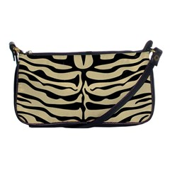 Skin2 Black Marble & Light Sand (r) Shoulder Clutch Bags by trendistuff