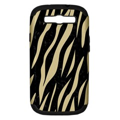 Skin3 Black Marble & Light Sand Samsung Galaxy S Iii Hardshell Case (pc+silicone) by trendistuff