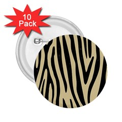 Skin4 Black Marble & Light Sand 2 25  Buttons (10 Pack)  by trendistuff