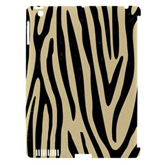 Skin4 Black Marble & Light Sand Apple Ipad 3/4 Hardshell Case (compatible With Smart Cover) by trendistuff