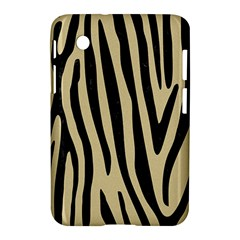 Skin4 Black Marble & Light Sand Samsung Galaxy Tab 2 (7 ) P3100 Hardshell Case  by trendistuff