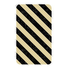 Stripes3 Black Marble & Light Sand (r) Memory Card Reader by trendistuff