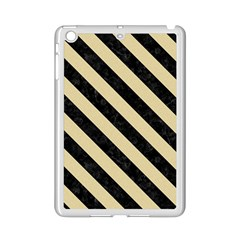 Stripes3 Black Marble & Light Sand (r) Ipad Mini 2 Enamel Coated Cases by trendistuff