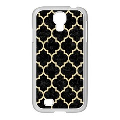 Tile1 Black Marble & Light Sand Samsung Galaxy S4 I9500/ I9505 Case (white) by trendistuff