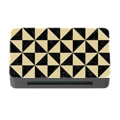 Triangle1 Black Marble & Light Sand Memory Card Reader With Cf by trendistuff