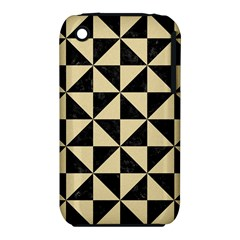 Triangle1 Black Marble & Light Sand Iphone 3s/3gs by trendistuff