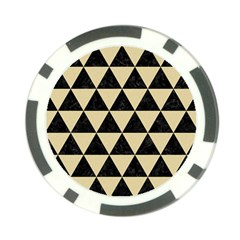 Triangle3 Black Marble & Light Sand Poker Chip Card Guard (10 Pack) by trendistuff