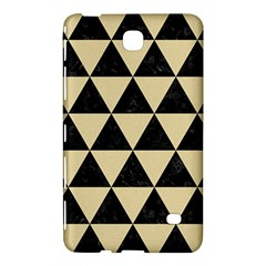 Triangle3 Black Marble & Light Sand Samsung Galaxy Tab 4 (8 ) Hardshell Case  by trendistuff