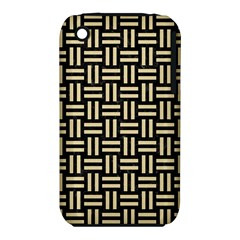 Woven1 Black Marble & Light Sand Iphone 3s/3gs by trendistuff