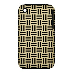 Woven1 Black Marble & Light Sand (r) Iphone 3s/3gs by trendistuff