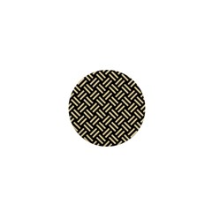 Woven2 Black Marble & Light Sand 1  Mini Buttons by trendistuff