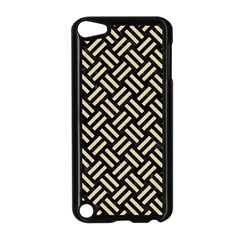 Woven2 Black Marble & Light Sand Apple Ipod Touch 5 Case (black) by trendistuff