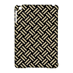 Woven2 Black Marble & Light Sand Apple Ipad Mini Hardshell Case (compatible With Smart Cover) by trendistuff