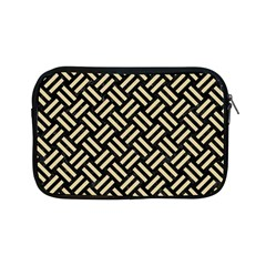 Woven2 Black Marble & Light Sand Apple Ipad Mini Zipper Cases by trendistuff