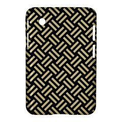 Woven2 Black Marble & Light Sand Samsung Galaxy Tab 2 (7 ) P3100 Hardshell Case  by trendistuff