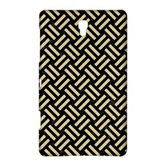 Woven2 Black Marble & Light Sand Samsung Galaxy Tab S (8 4 ) Hardshell Case  by trendistuff
